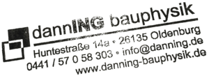 Danning Bauphysik Sachverständiger Oldenburg