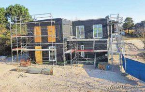 Baustelle OJE Wangerooge